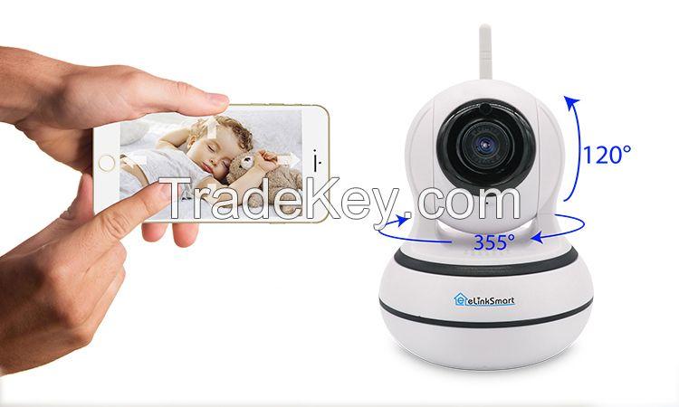 2017 Hot Wholesale Mini Smart Security Full HD Network Cctv 360 SecurityP2P Wifi Wireless Ip Camera
