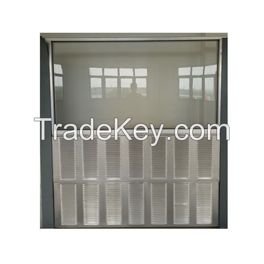 Transparent PMMA sound barriers