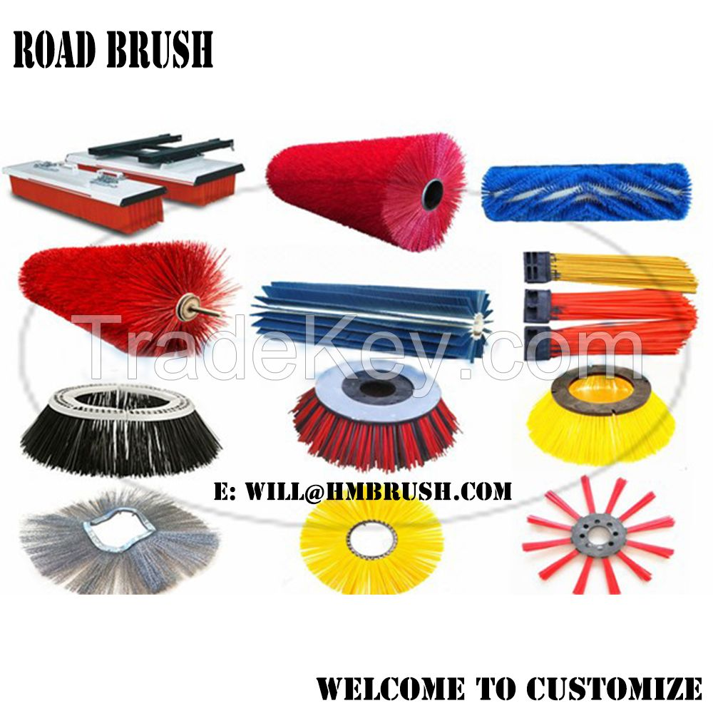 Road Sweeping Street Airport Yard Runway Cleaning Brush Gutter Broom