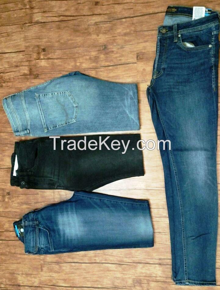 Denim Jeans - Export Leftovers - Gents Jeans - Ladies Jeans - Kids Jeans