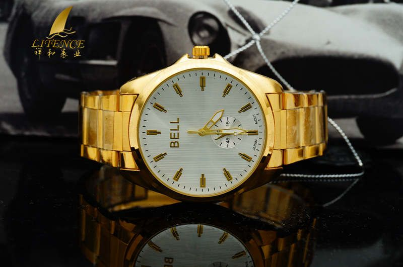 Gold watch, High Quality Brand Design Mens watch Fashion From China supplier Wristwatch