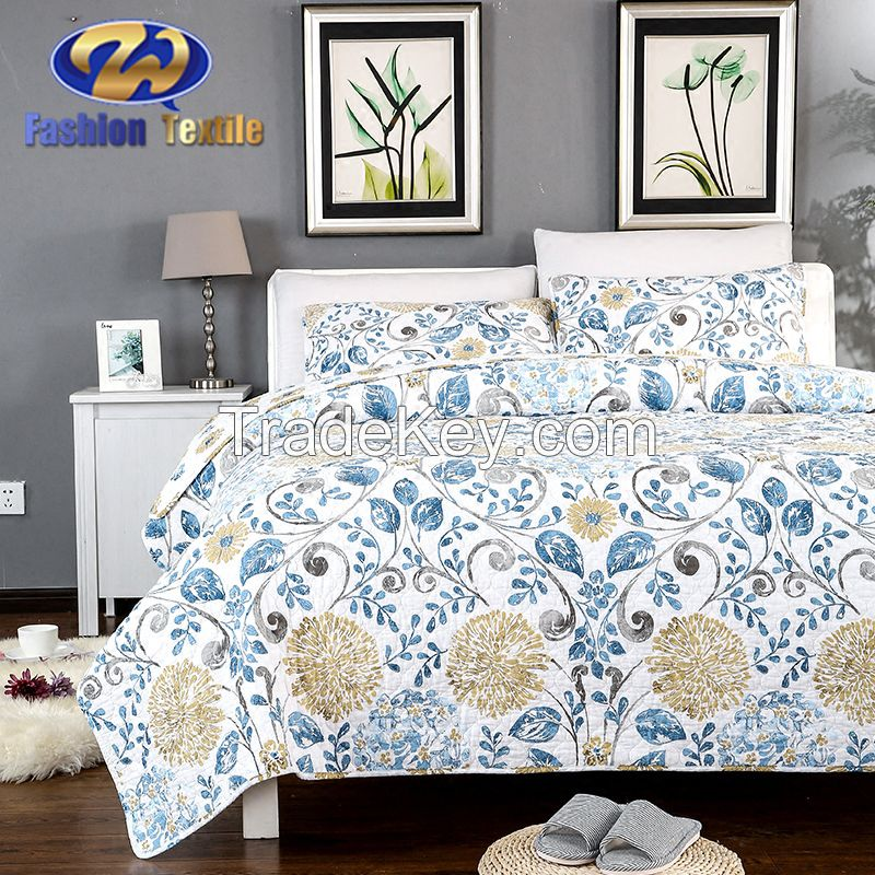 Attractive soild pinsionic ultrasonic quilt wholesale