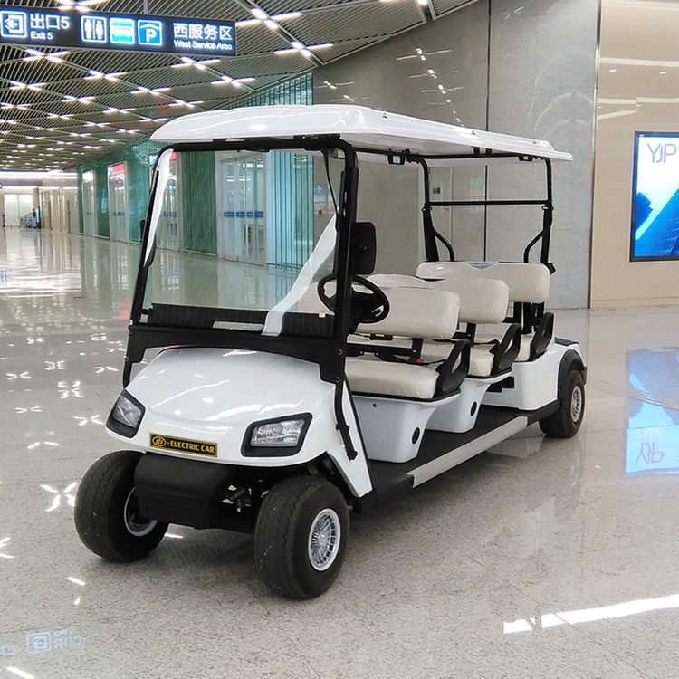Electric vehicle 6 seater golf carts