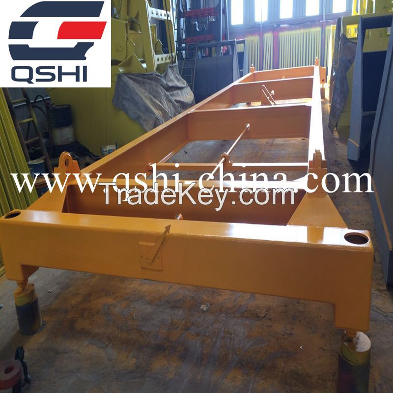 20feet/40feet Semi Automatic Container Lifting Frame Container Spreader