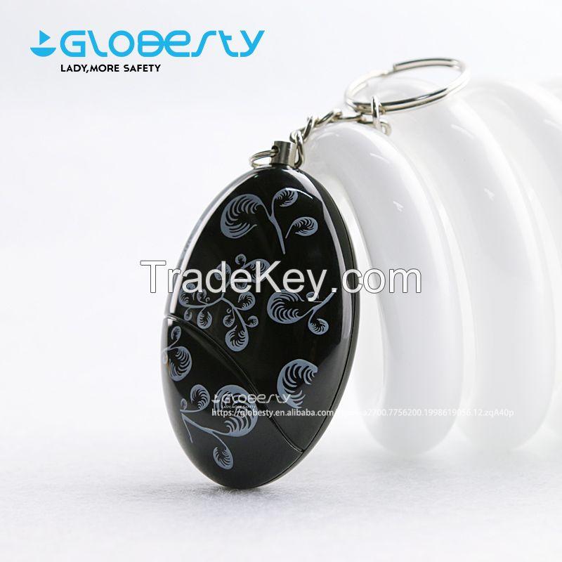 Portable 120db Siren Personal Alarm Keychain Anti Rape Security Gadget for Women, Elderly