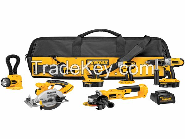 Power tools for sale and Cheap drills DeWalt DCK655X 18V XRP 6 Tool Combo Kit Impact Driver