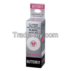 BUTTERFLY 3-STAR BALL G40+ - PACK OF 3