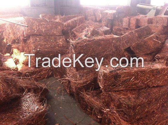 Quality Copper Wire Scrap,(Mill Berry) 99,99% ,Red Copper Mill Berry, Scrap Metal