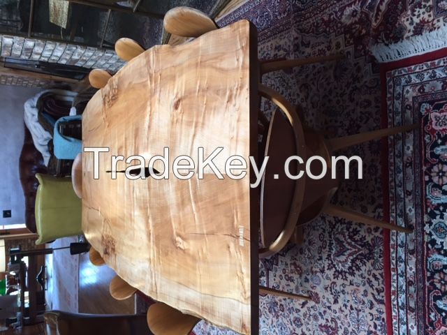 Custom hand crafted office conference tables and desks.