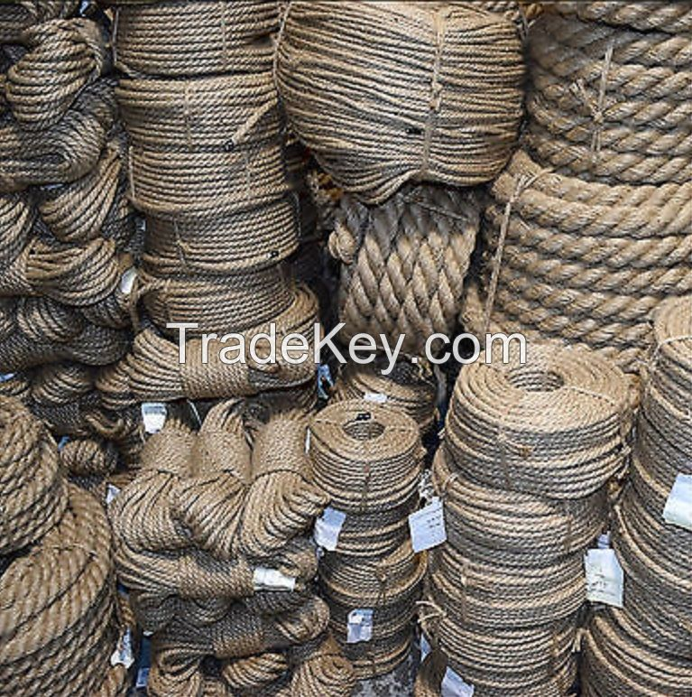 Strong Durable Reliable Sisal Ropes