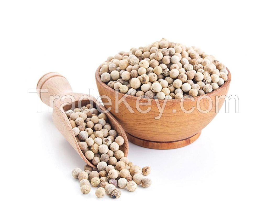 100% Natural White  and Black Pepper