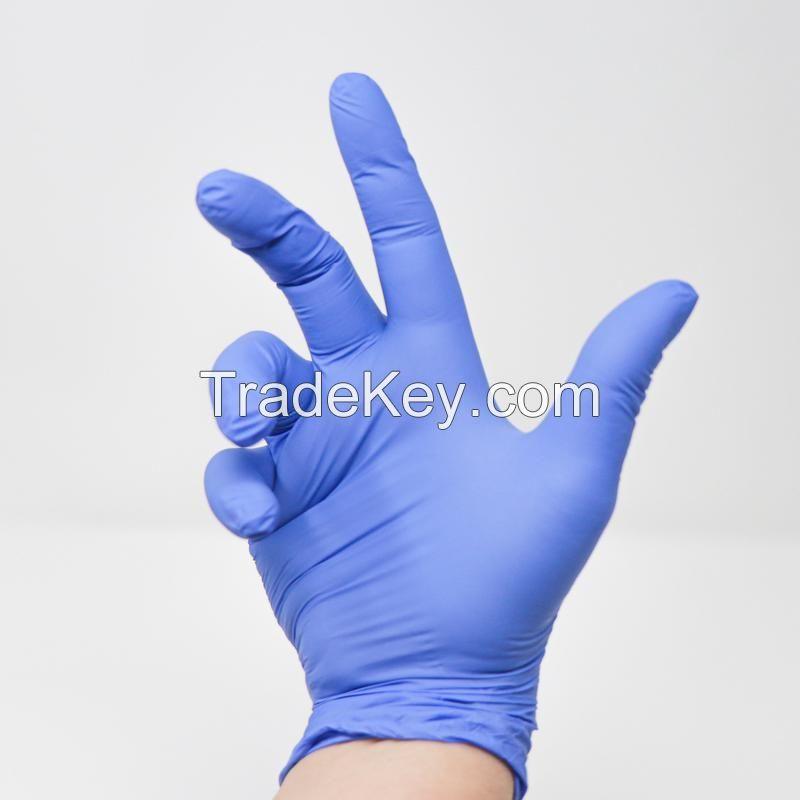 Powder/powder free Long Latex Nitrile/Surgical Gloves