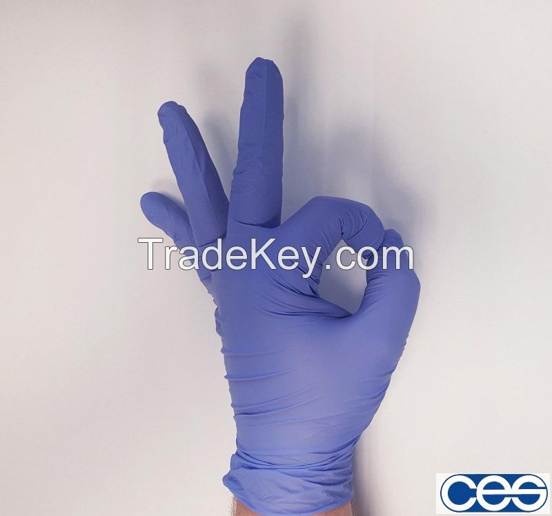 sterile Pre-powdered/ Powderfree Surgical Latex medical hand gloves