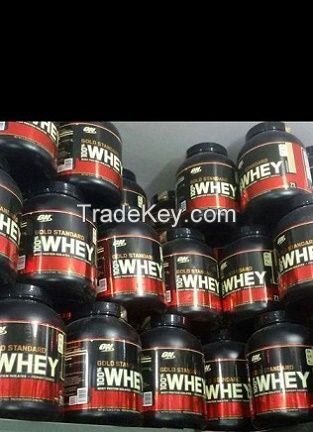 Optimum Nutrition Gold 100% Whey Protein and Other Supplements For Sale