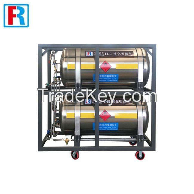 Cryogenic liquid cylinder for industrial gas LNG,LAr,LOX,LN2 ,LCO2