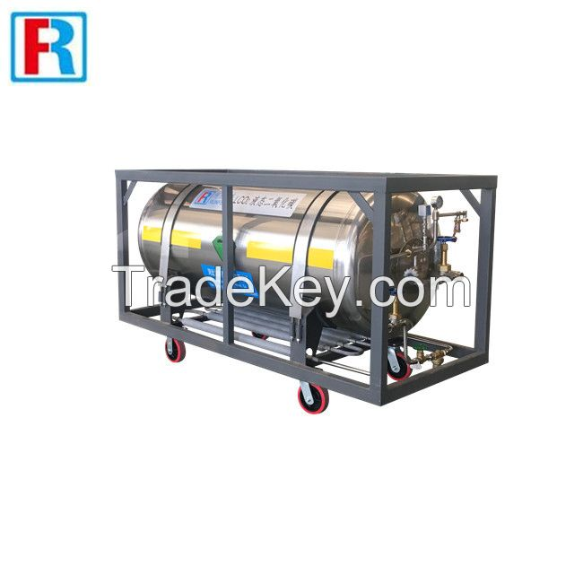 welded insulated cylinder,Cryogenic liquid cylinder-Hebei Runfeng