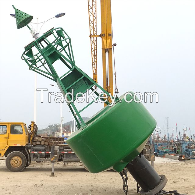 Long-term unattended operation maritime navigational aid navigation buoy for sale