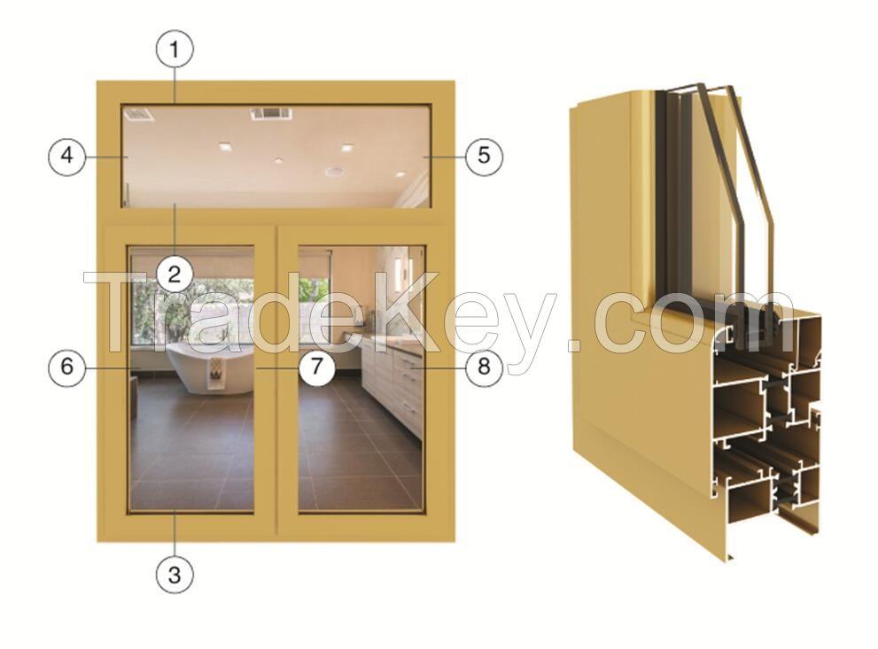 70-series casement door & window series