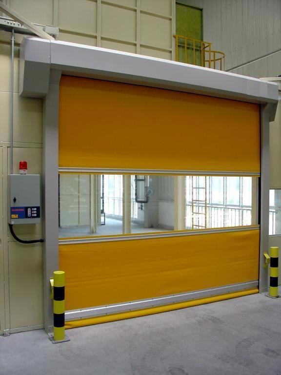 Auto fast PVC Roller high speed door