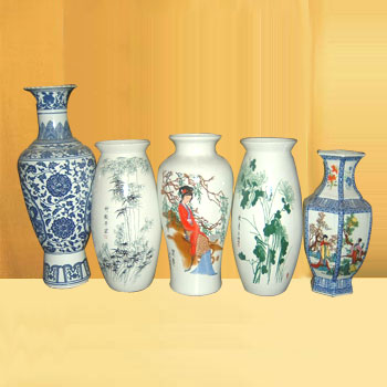 Antique Chinese Porcelain Vases By Ningbo Xiangshan Huada