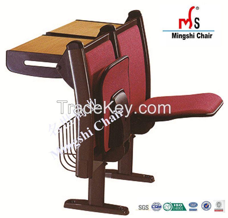 School Classroom Chair and Desk in University High School Middle School