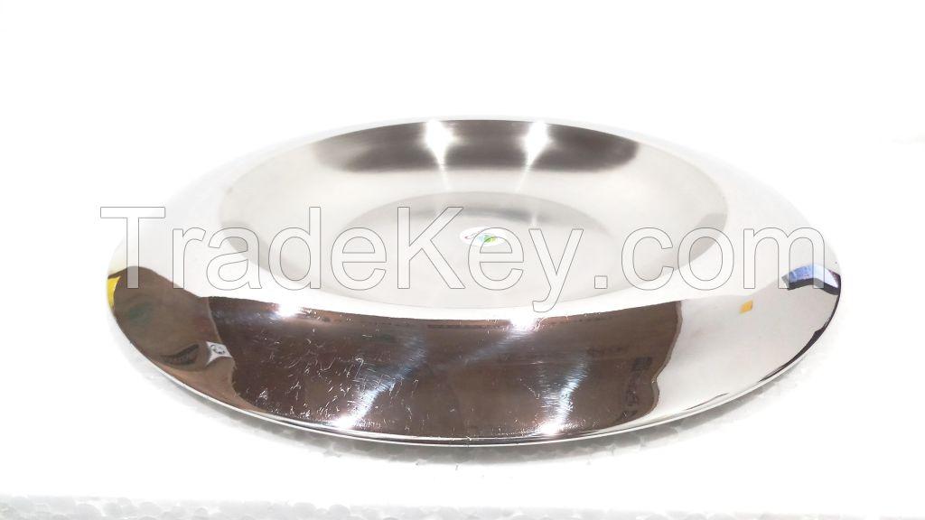Graminheet Stainless Steel Salad Tray 37cm