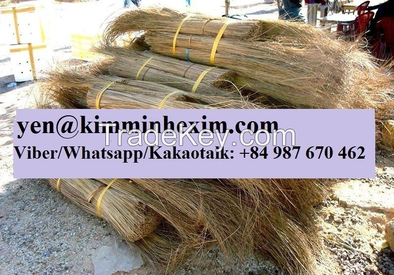 CHEAPEST COCONUT BROOM STICKS ORIGIN VIETNAM