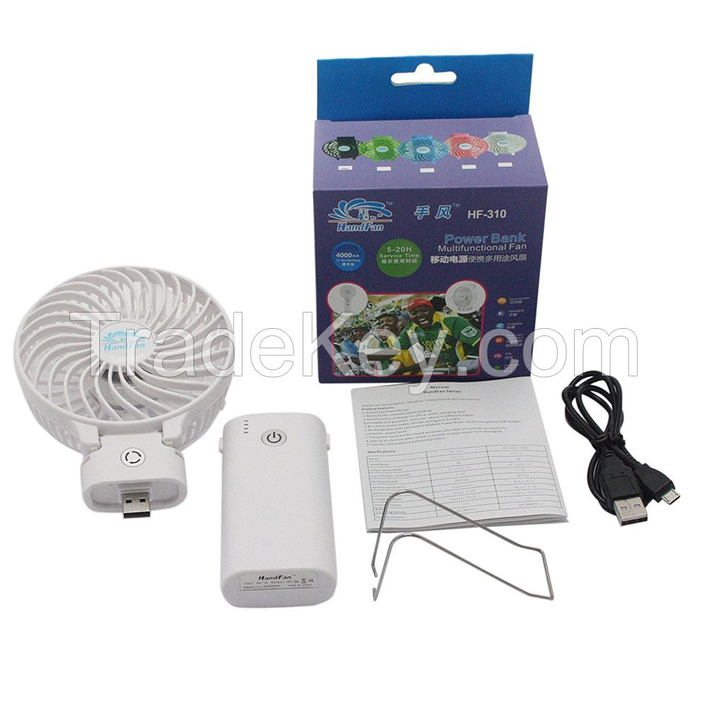 Plastic Material and handheld Installation mini battery operated fan For Kids