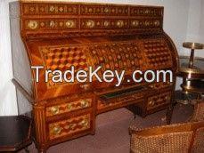 Antique Louis XVI secretaire cabinet