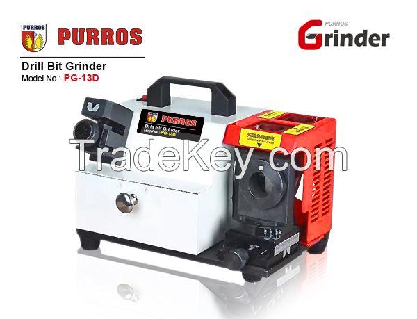 PURROS PG-13D patent drill bit re-sharpener grinder