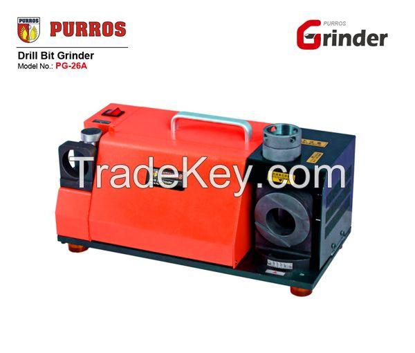 PURROS PG-26A portable grinder of twist drill bit sharpener, drill bit sharpening machine