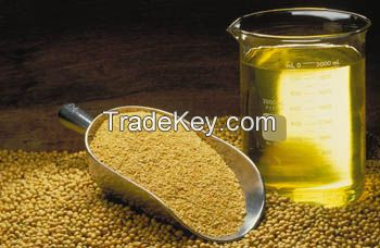 Crude and refined Refined soybeans oil