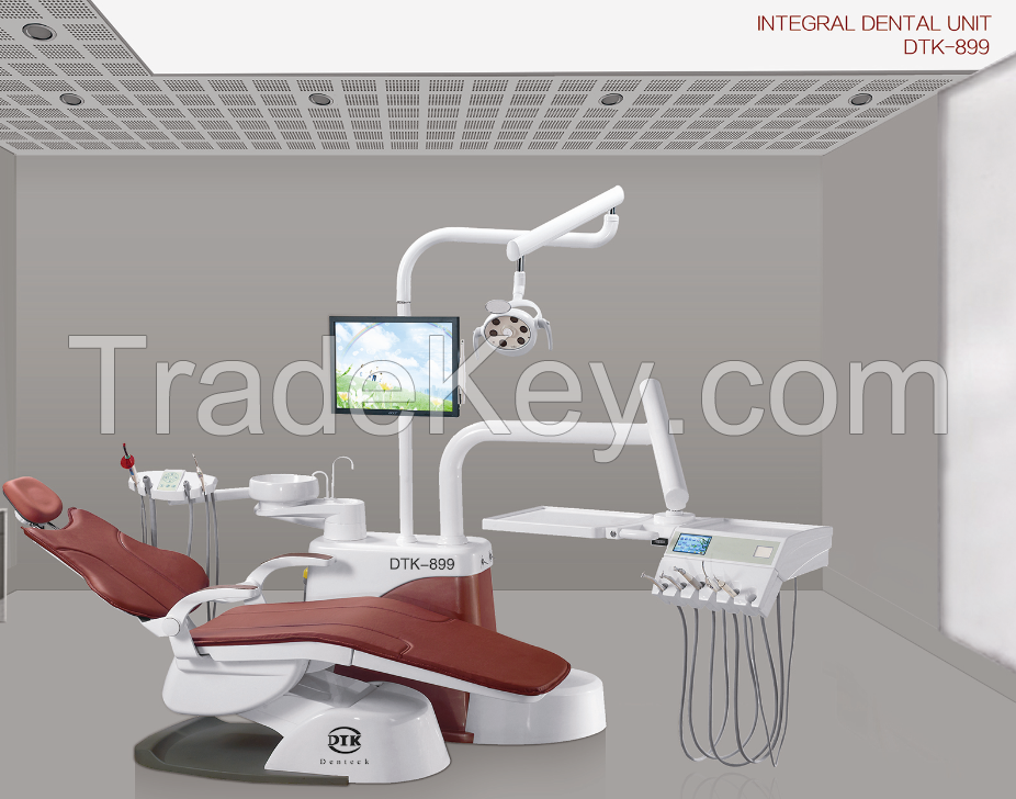 Super quality dental Unit with deluxe assistant control system, Italy Imported electromagnetic valve