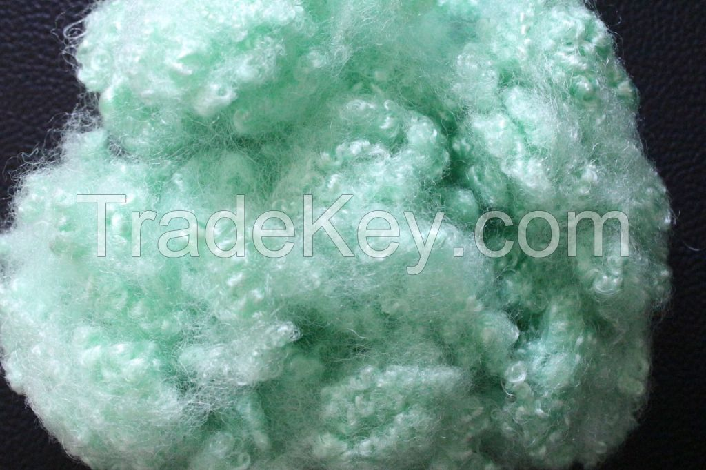 Hollow Conjugated Silicone Recycled Polyester Staple Fiber