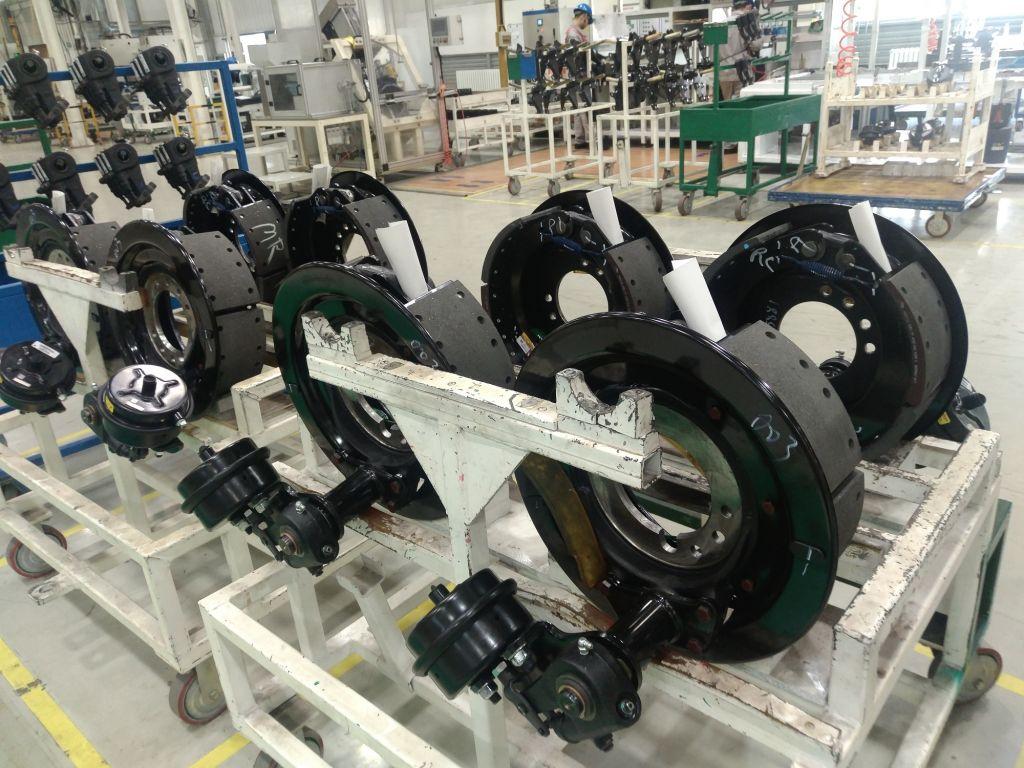 Axle Parts for Meritor Crane