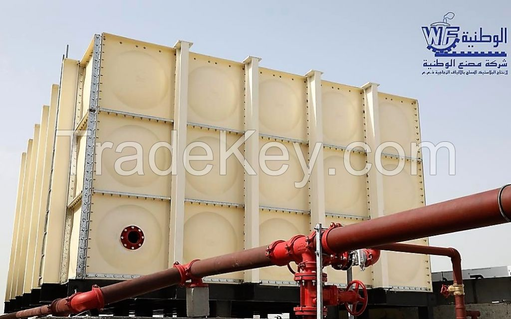 GRP Sectional Water Tanks