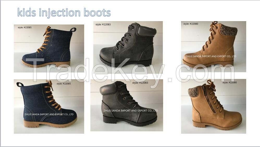 kids injection boots