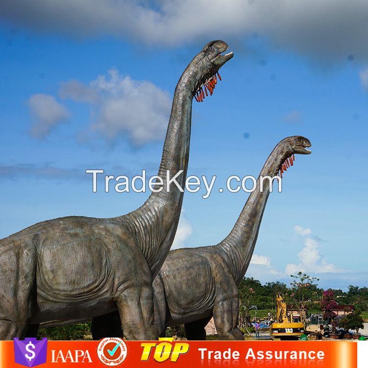 Sanhe Robot 16m Long Indoor Exhibition Simulation Realistic Mechanical Dinosaur