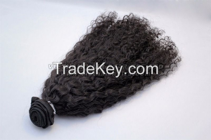 1st human hair supplier 100% virgin hair Full Double Drawn Remy Weft Hair