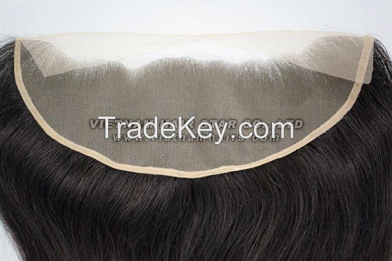 Human hair Lace Base Closures