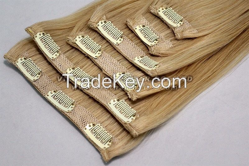Full-head Set Clip-in Hair Extensions