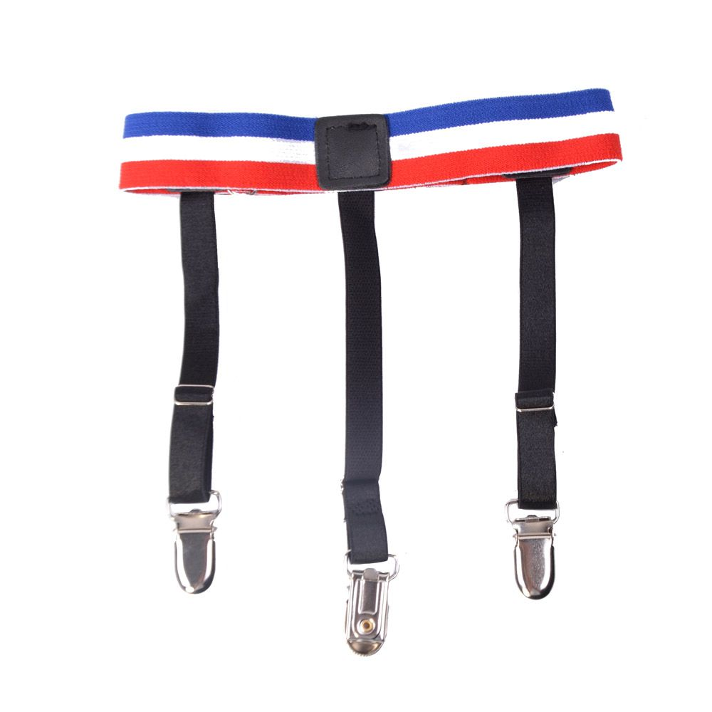 Factory Hot sale fashion suspenders garters shirt garters mens shirt stays