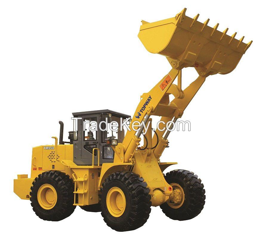 High QualityTM958 5Ton 3.0 CBM wheel loader with Weichai or Cummins engine