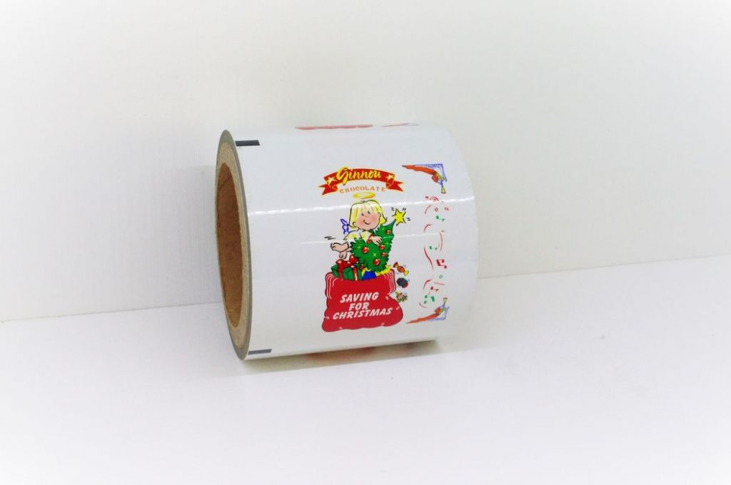Chocolate automatic packaging film in roll