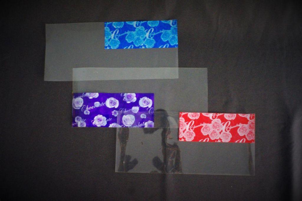 Flowers wrap, rose wrap film in sheet