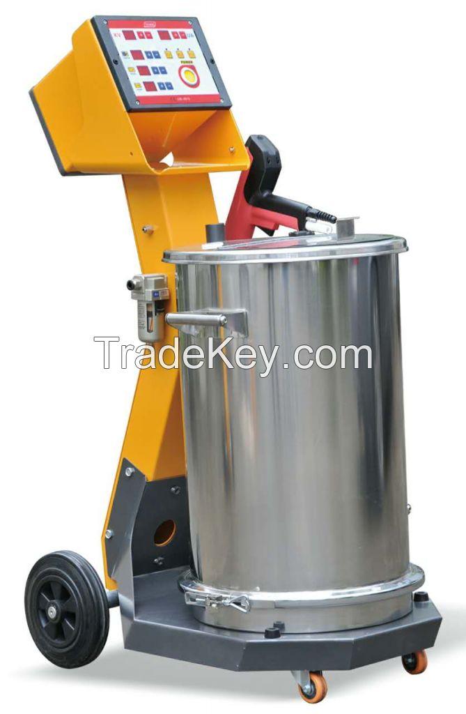 Manual coating machine