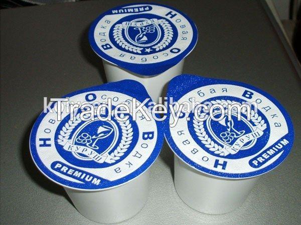 Aluminum Lidding Film For Yogurt in aluminum foil plastic film