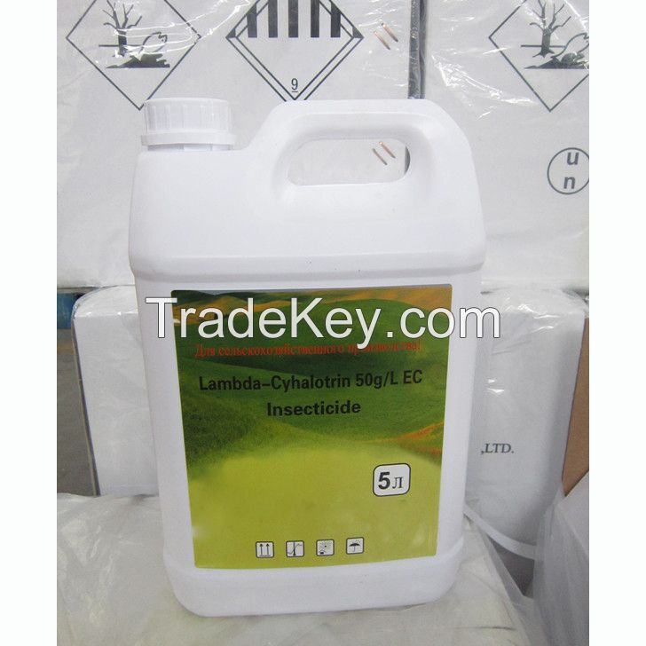 Insecticide Lambda-cyhalothrin 95%TC 2.5ì, 5ì