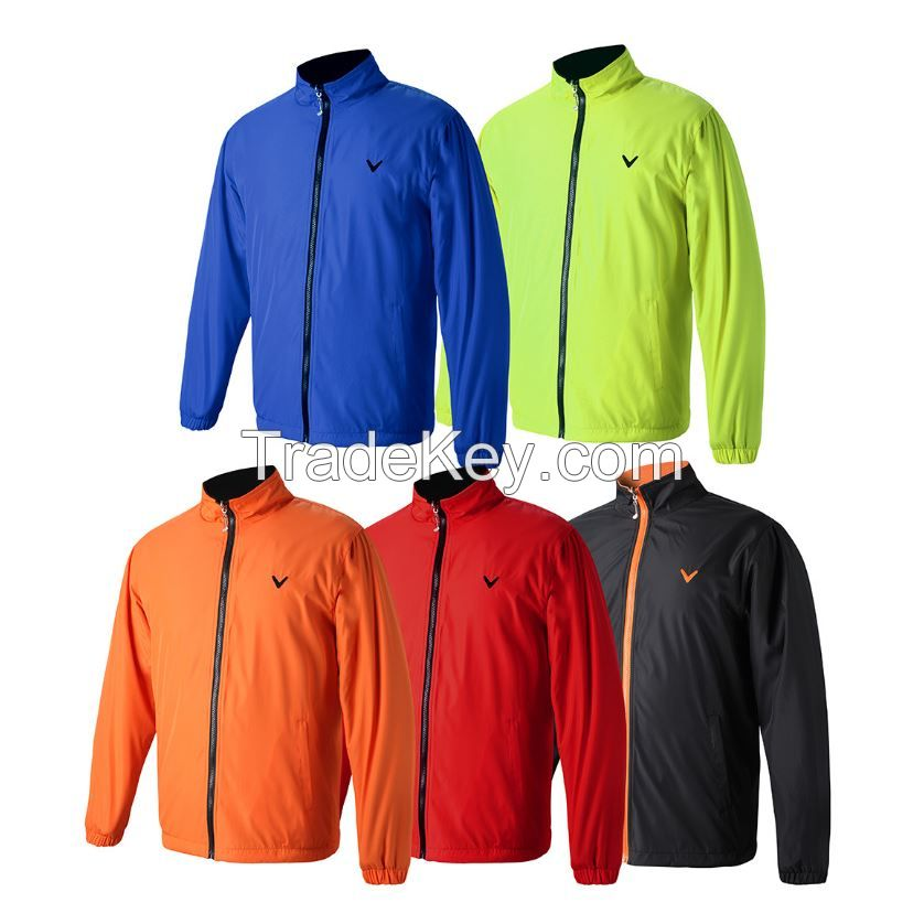 Wind coat for golf players causal sport coat