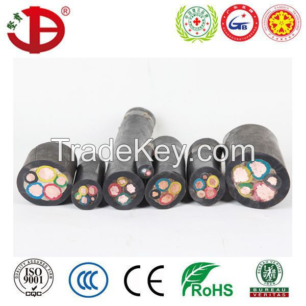 IEC60502 Copper Conductor PVC Insulation NYY Cable VV Power Cable